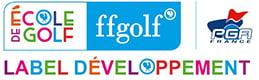 label développement école de golf