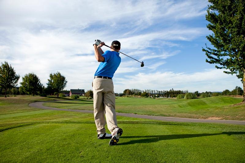 M.Bayrou golf Idron